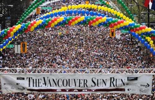 The 2011 Vancouver Sun Run
