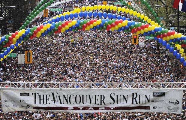 The 2011 Vancouver Sun Run