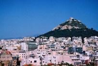 Yuri Martins Fontes / Grécia – 2007 / Atenas: Monte Licabeto ao fundo.