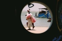 Yuri Martins Fontes / Sudão-2007 / Wadi-Halfa: Porto do Nilo / Fronteira com o Egito