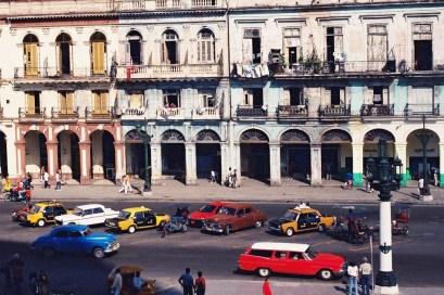 Yuri Martins Fontes / Cuba-2002 / Havana: Avenida do Capitólio / Centro da capital