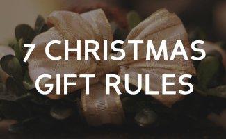 7 Christmas Rules