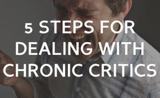 5 steps to deal with chronic critics