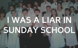 I lied in a Sunday school Bible contest