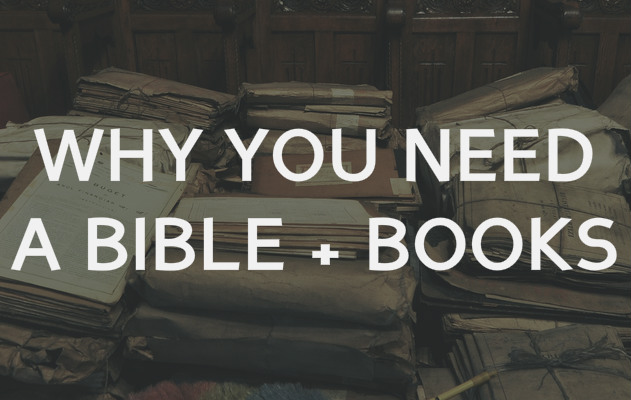 why you need bible and books