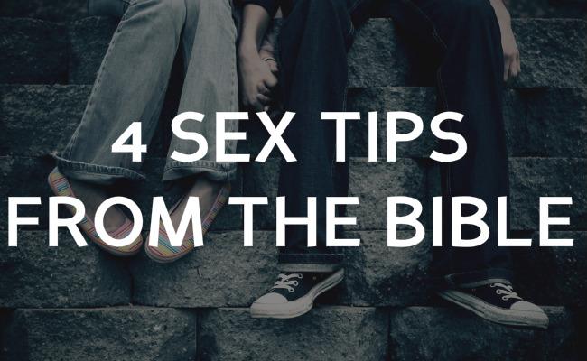 bible sex tips