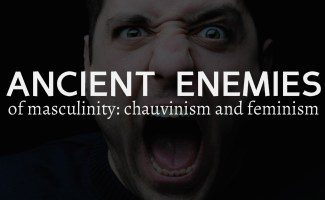 Ancient enemies of masculinity: chauvinism and feminism