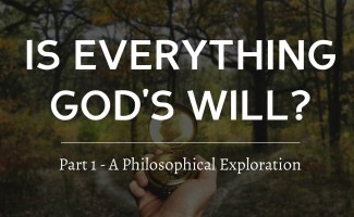 Is everything God's will? The philosophical hypothesis