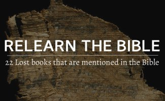 22 Lost books that are mentioned in the Bible