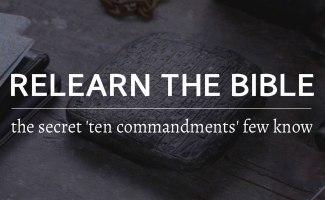 The secret Ten Commandments few people know