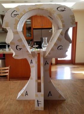 paper model of Eternity