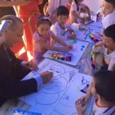 yuroz at children's symposium in china