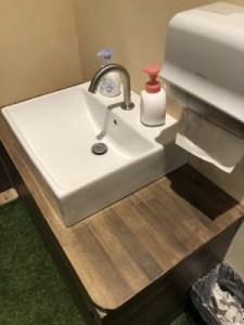 川中島hiroba手洗い場