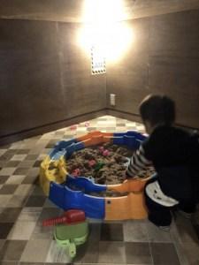 川中島hiroba砂遊び