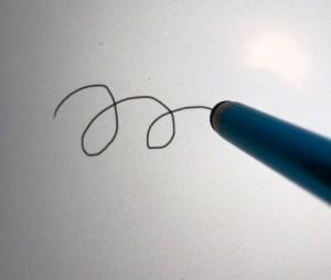 タッチペンタイプの描画画面