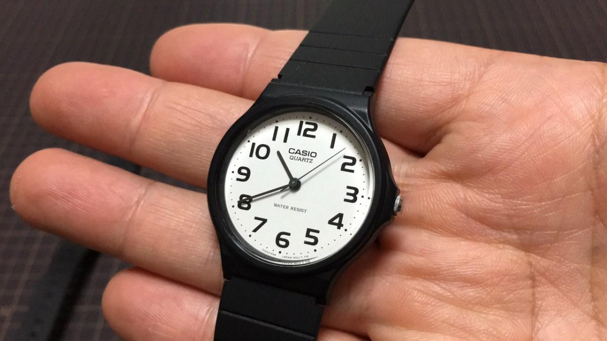 コスパ良し!『チプカシ』ことCASIOの腕時計は海外旅行でも使いやすいのでおすすめ