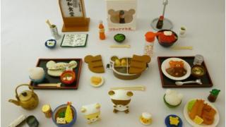 「リラックマの昭和食堂フィギュア」