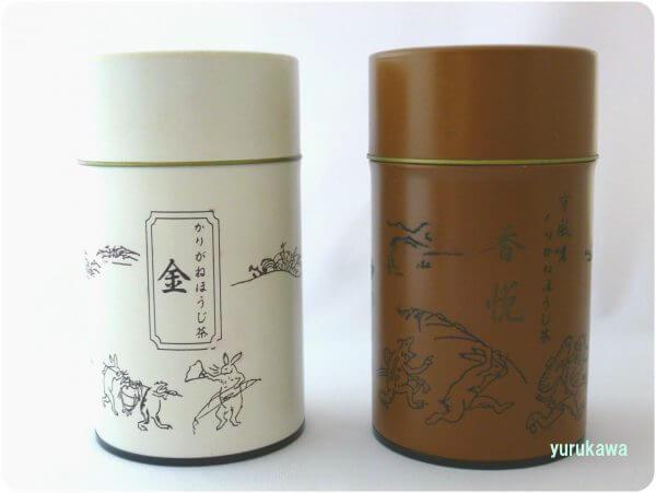 「柳桜園茶舗のお茶缶」