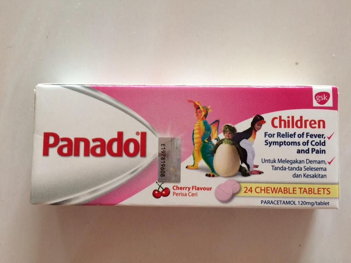 パナドール、マレーシアの万能薬w