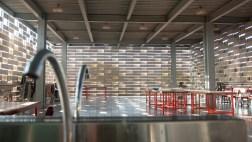 Edifcio Oeste - Vista interna del comedor