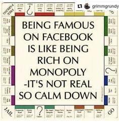 Famous on facebook monopoly