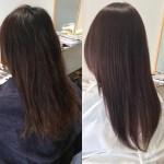岐阜県美容院可児市レアーリの艶髪