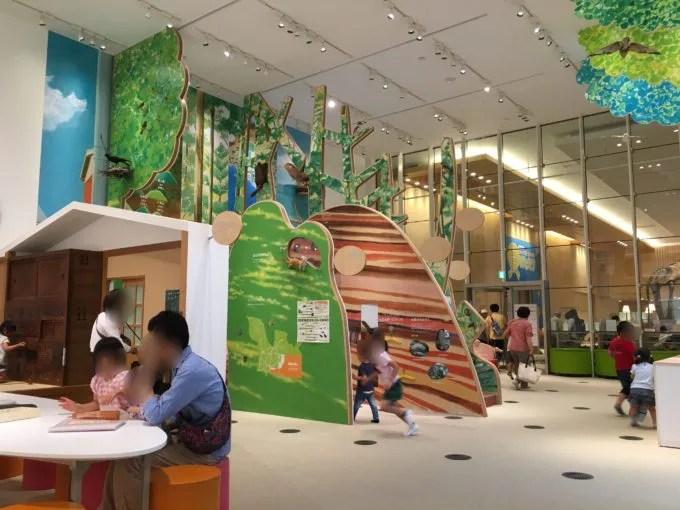 三重総合博物館のこども体験展示室