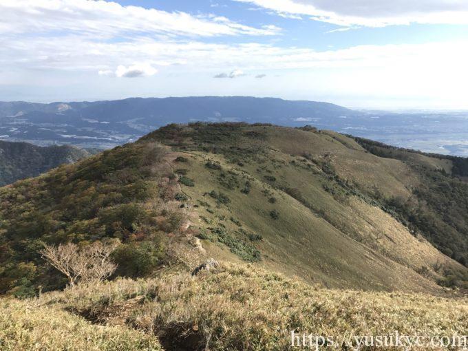 竜ヶ岳の遠足尾根