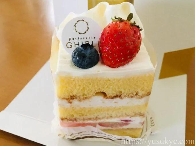 ギブリのイチゴショートケーキ