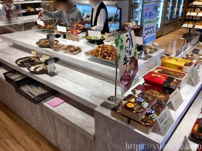 パーシモガーデンの惣菜売り場