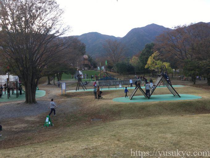岐阜県こどもの国の遊具