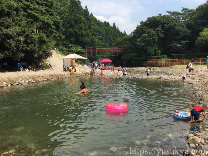 宇賀渓天然プール