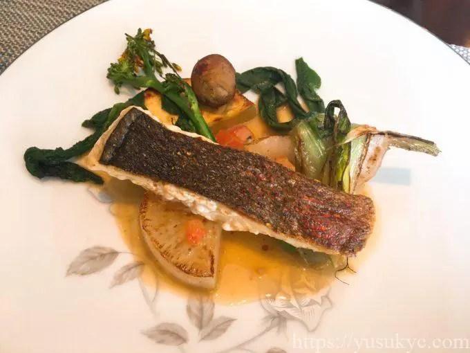 ビストロシェスギの魚料理