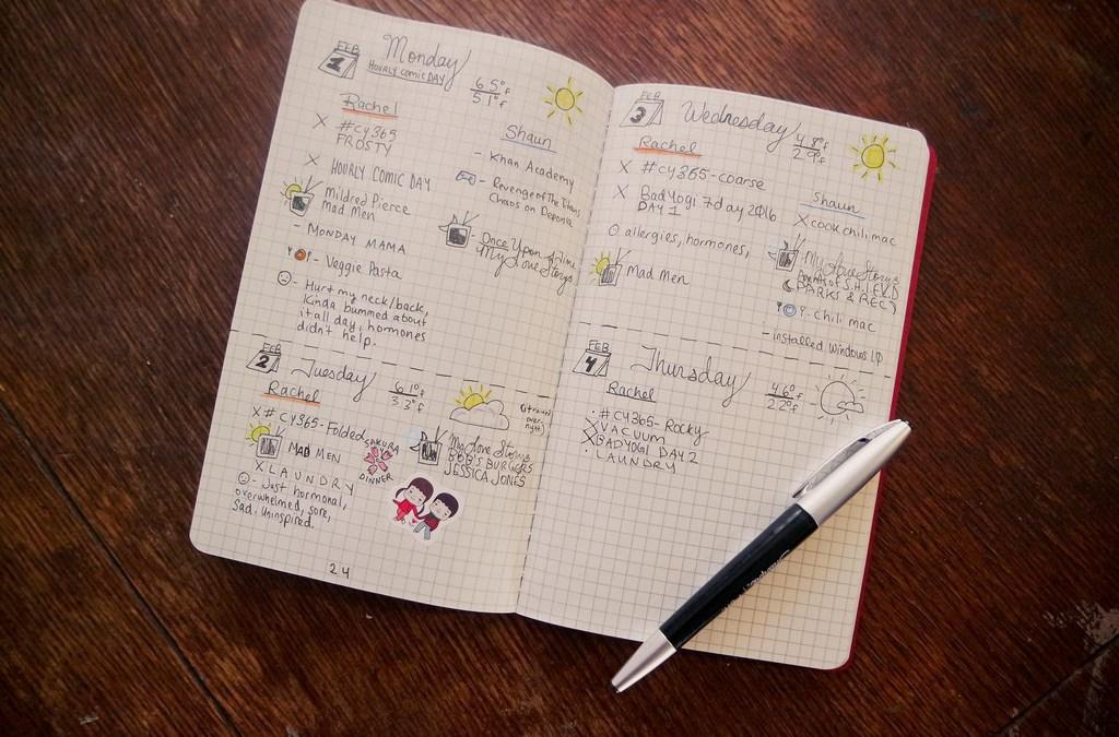 【 生活 】子彈筆記 Bullet Journal