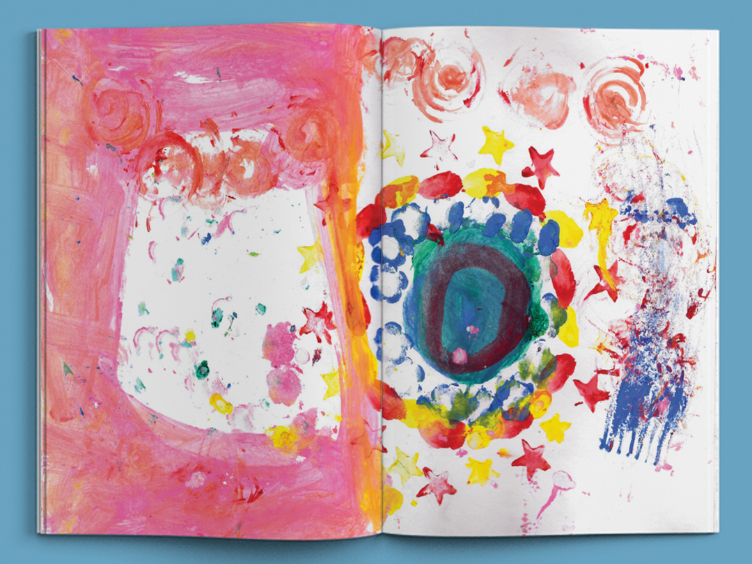 村民與巨人 蝴蝶頁 2 黃妤涵 Dori Picture Book , handmade picture book