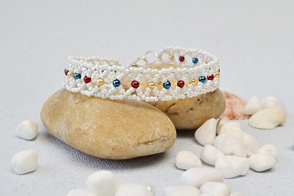 Fehér Cheer Bead - MK