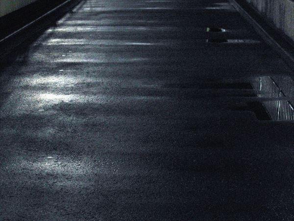 濡れた道路
