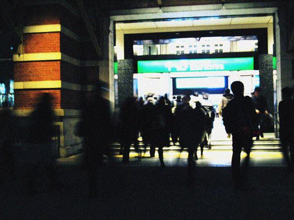 東京駅の入り口
