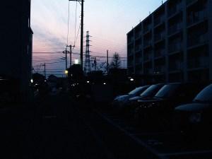 夕方の空2