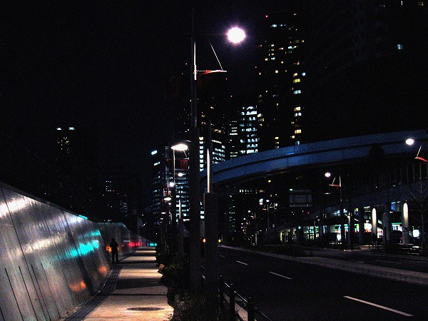 浜松町の道