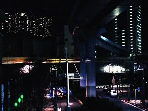 浜松町を通る高速道路