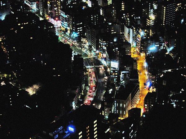 六本木ヒルズからの夜景3