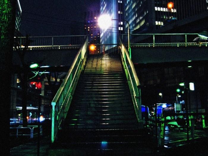 六本木の歩道橋2