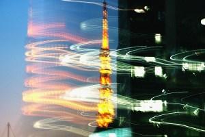 東京タワーの閃光