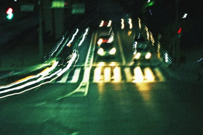 車の閃光2
