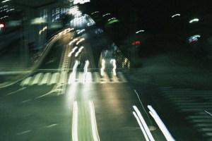 車の閃光3