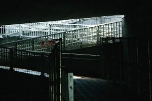 陸橋下スロープ