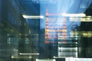 ぶれる東京タワー