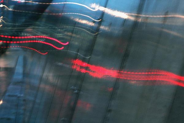 うつる赤信号