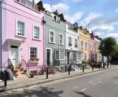Townhouses in Chelsea - Shutterstock